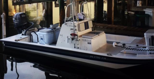 Inshore Fishing Charter Boat